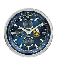 "NEW 14""  CITIZEN  WALL CLOCK -BLUE ANGELS REPLICATES BLUE ANGELS WATCH CC2030"
