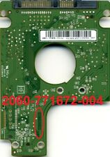 LOGICA PCB BOARD WD6400BEVT-22A0RT0 640GB 2060-771672-004 REV A 88i9045-TFJ2 HDD
