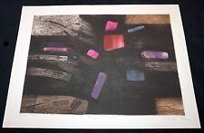 "1960s New York Print 18/30 ""Pregnant Earth"" by Gabor Peterdi (1915-2001)(Mod)"