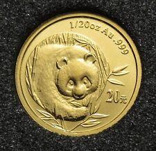 20 Yuan 2003 - China - Panda 1/20oz Au