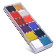 For Cheeks Eyes Lips 12in1 Flash Color Palette Paint Cosmetic Case Beauty Makeup