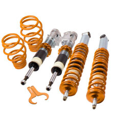 for VW POLO 6N2 Coilover Suspension Lowering Kit Spring Struts 2001