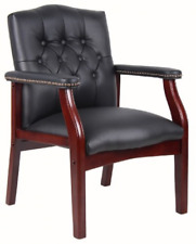 Boss Office Products Ivy League Executive Guest Chair Black 250