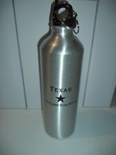 """""""YOU MAY ALL GO TO HELL, I WILL GO TO TEXAS"""" DAVY CROCKETT ALUMINUM WATER BOTTLE"""