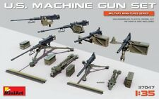 Miniart 1/35 U.S. Machine Gun Set # 37047