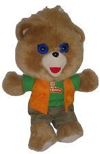 "Talking Teddy Ruxpin 11"" Plush Bear Educational Toy 2018"