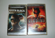 Pitch Black UMD 2005 Unrated Directors Cut AND Chronicles Of Riddick LOT OF 2