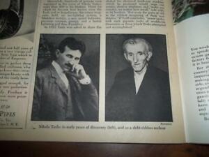 NOVEMBER 1944  NIKOLA TESLA NEWSWEEK GENERAL PATTON WWII V-2 ROCKET BATISTA CUBA