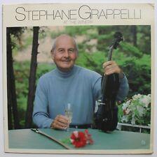 Stephane Grappelli Martin Taylor Guitar Concord Jazz CJ LP 1981