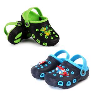 Boys Crocs Style sandals clogs children sandals swim water beach slippers