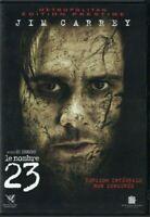DVD LE NOMBRE 23 JIM CARREY