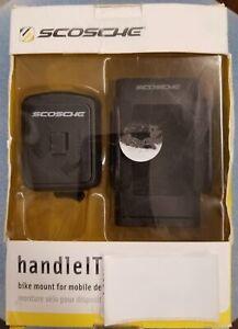 Scosche handleIT bike mount for mobile devices HFBM01 Phone Camera GPS