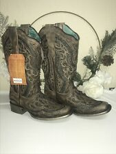 Corral Glitter inlay Cowboy boots