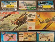 Maquetas sin montar 1/72 Vintage Model Kits Hasegawa Hales, Heller, Italaerei...