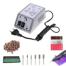 New listing Electric Nail File Drill Manicure Machine Acrylic Art Pedicure Tool Set Kit New