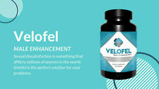 VELOFEL MALE ENHANCEMENT (60 CAPSULES) INCREASE LIBIDO - FREE & FAST DELIVERY