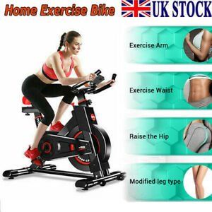 Exercise Bike Bicycle Fitness Trainer Weight Loss Machine for Home Gym Indoor