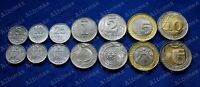 Moldova 2018 Full set 7 coins  standard circulation