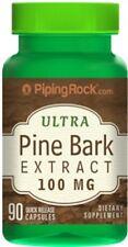 PINE BARK EXTRACT 100MG REPAIR COLLAGEN TISSUE BLOOD VESSELS SUPPLEMENT 90 CAPS