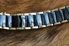 rado ladies diastar watch ceramic two tone black/gold 1 complete full link 12mm