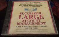 successful large account management marketplace  2 cds Robert b miller BRAND NEW