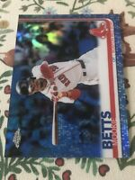 Mookie Betts Topps 2019 Chrome /150 Red Sox Dodgers
