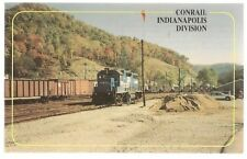 CONSOLIDATED RAIL CORPORATION INDIANAPOLIS DIVISION POSTCARD