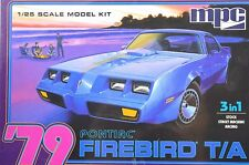 Pontiac Firebird T/A TRANS AM 1979 MPC 820 1:25 KIT PLASTIQUE Stock Course De Rue