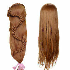 "26"" 30% Real Human Hair Hairdressing Salon Training Head Doll Model Mannequin"