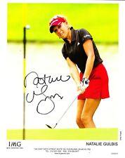 Natalie Gulbis LPGA Signed 8x10 Photo PSA/DNA Guaranty Auto!