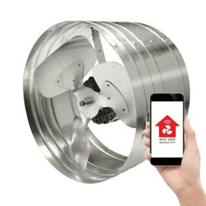 MASTER FLOW Smart Power Gable Mount Attic Vent Fan 1450 CFM W/ WiFi EGV5SMTBG