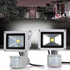 More details for 2x led floodlight pir sensor motion 20w outdoor security waterproof flood light