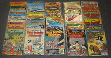 UNCLE SCROOGE ADVENTURES COMIC LOT--36 DIFF 1987 to 1997 #2 to #45 NMMT to MINT