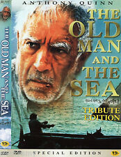 Ernest Hemingway -The Old Man and the Sea - Anthony Quinn (NEW) Classic DVD