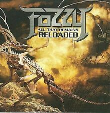 """FOZZY - """"ALL THAT REMAINS RELOADED"""" (NEW & RARE CD + LIVE DVD SET) CHRIS JERICHO"""