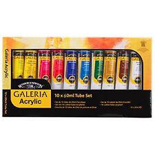 Winsor & Newton Galeria Acrylic - 10 x 60ml Tube Set