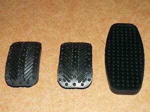 New Fiat X1/9 X19 Lancia Montecarlo Pedal Rubber Set 3
