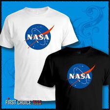 NASA T SHIRT Cool RETRO Space Logo, Astronaut MARS MISSION All Sizes - 3XL 4XL