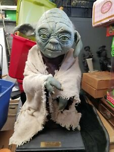 Vintage 1994 Illusive Concepts Limited Edition Life-Size Yoda 1456 of 9500