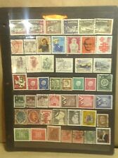 German Stamp Collection 48 Pcs Estate Find