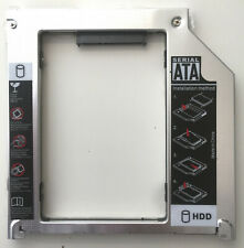 """Second HDD SSD Hard Drive Caddy Tray for Apple MacBook Pro Unibody 15"""" ou 17"""""""