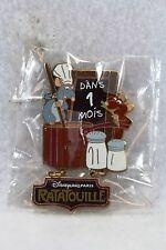 Disney DLP Disneyland Paris Pin LE Ratatouille Pixar Attraction Countdown Emile