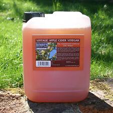 Vintage Apple Cider Vinegar - 5 Litres - Unfiltered, Unpasteurised & with Mother