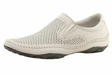 GBX Mens Summah 13560 Casual Slip On Perforated Loafer Shoe White Size 6.5 M
