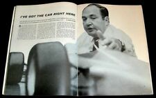ANDY GRANATELLI 1968 INDY 500 TURBINE RACE CAR PICTORIAL STP INDIANAPOLIS