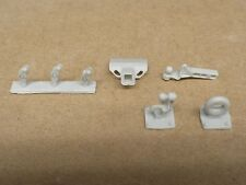 RESIN 1/25 CURT PINTLE HITCH SET C04