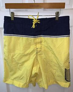 Polo Sport Ralph Lauren Men Medium M Color Block Swim Trunks Cargo Nautical