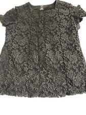 BNWOT Size S M Tk Maxx Premise Studio Black Lace Top