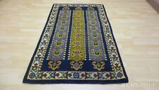 "Smryna Deep Pile Hearth CARPET RUG HAND MADE Oriental 6FT 4"" X 3FT 9"""