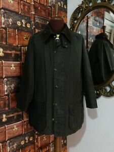 barbour beaufort jacket waxed cotton + trapunta giacca  c46-117 xl